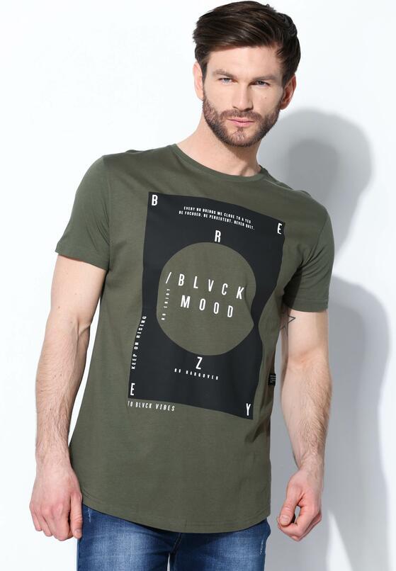 Zielona Koszulka Black Mood