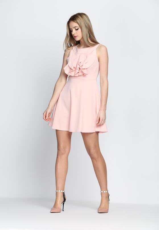 Jasnoróżowa Sukienka Good Shape