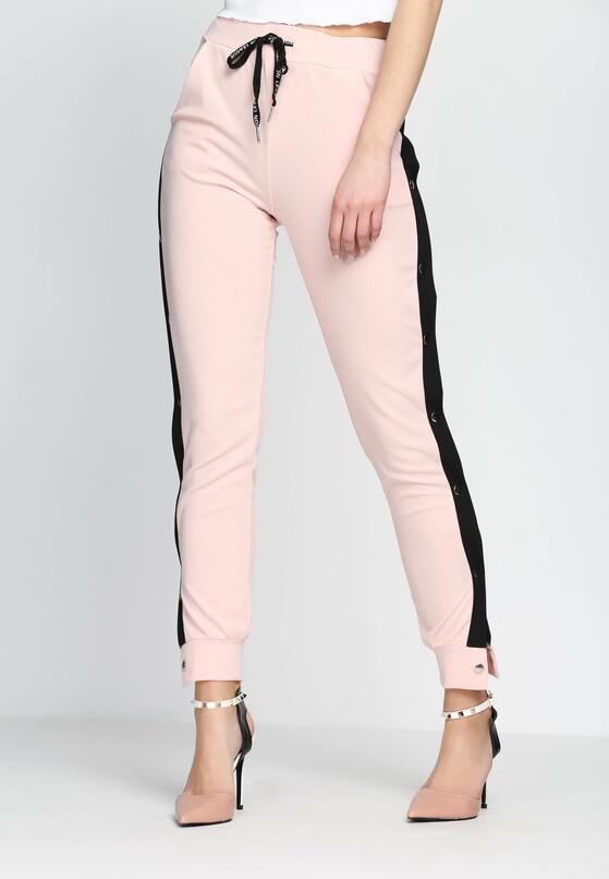 Różowe Spodnie Dresowe Nowadays