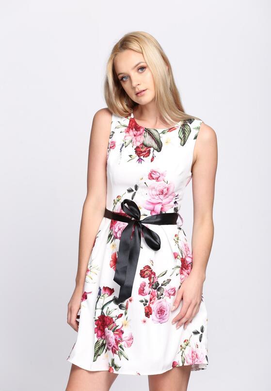 Biała Sukienka Verbena