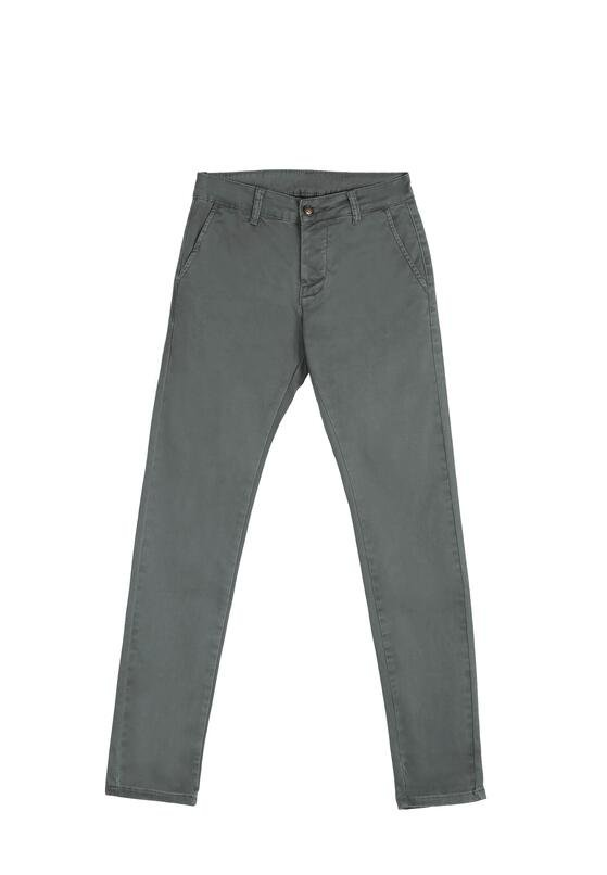 Ciemnoszare Spodnie Improvize
