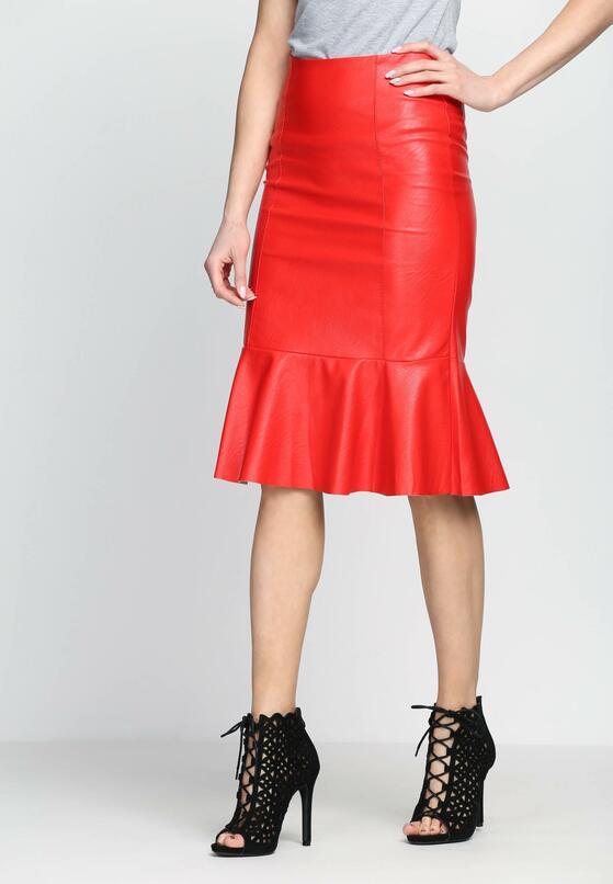 Czerwona Spódnica Da Bomb