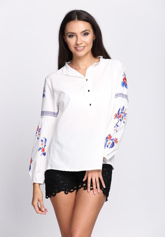 Biała Koszula Hot Trend