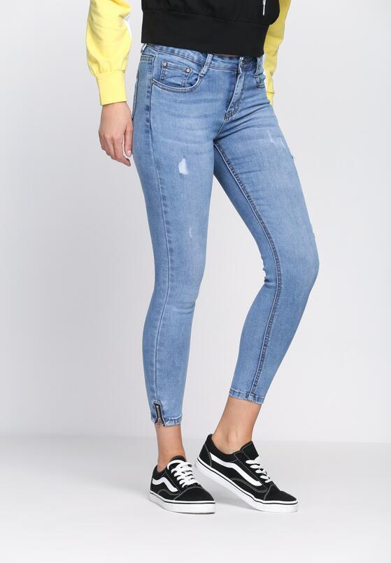 Niebieskie Jeansy Hot Apple