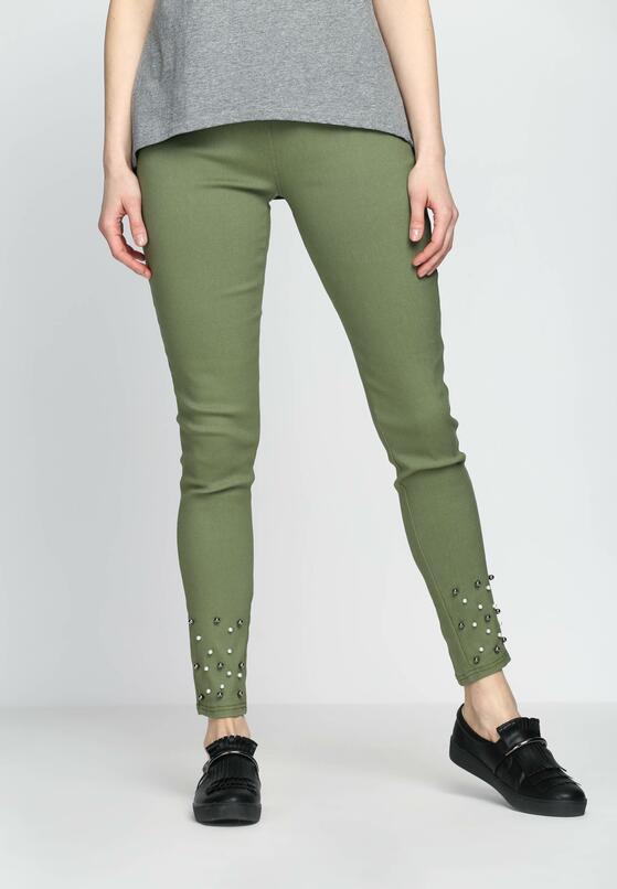 Zielone Spodnie Medley