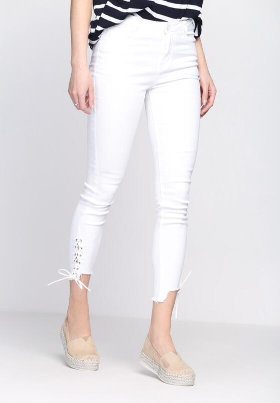 Białe Jeansy Come Around
