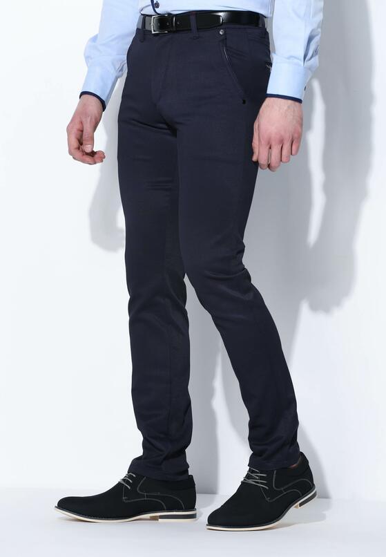 Granatowe Spodnie In Style