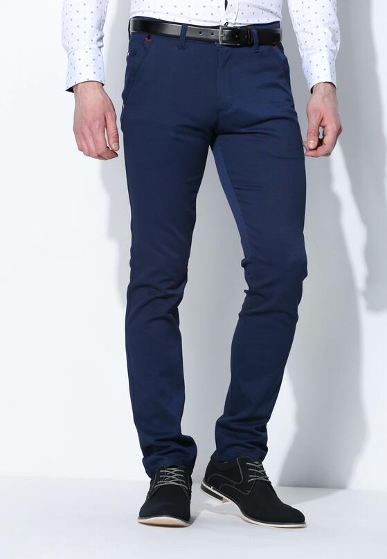 Granatowe Spodnie Flashback