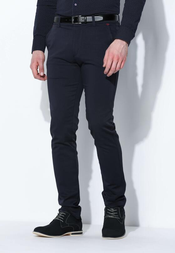 Granatowe Spodnie Beeline