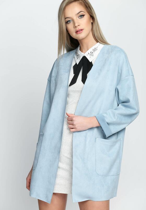 Niebieski Płaszcz Covering