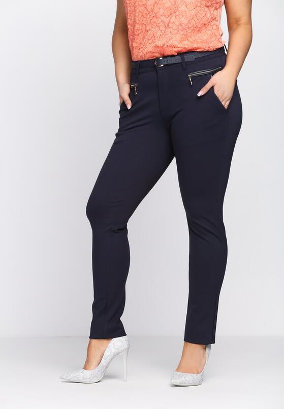 Granatowe Spodnie Keep Class