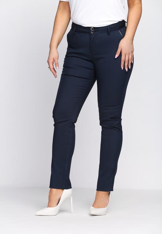 Granatowe Spodnie Black Line