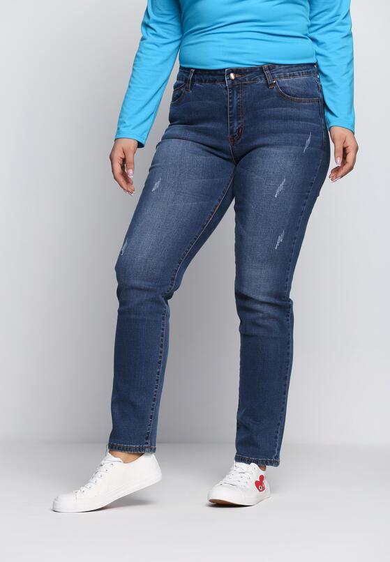 Niebieskie Jeansy Danger