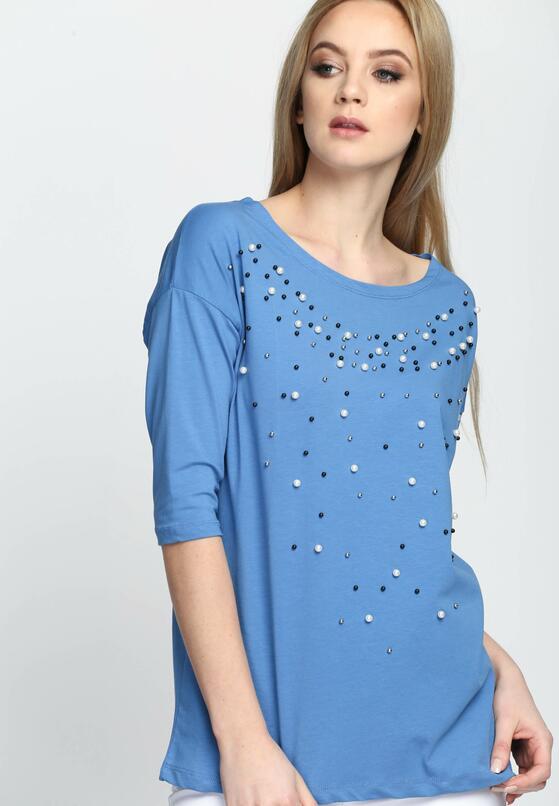 Niebieska Bluzka Exception
