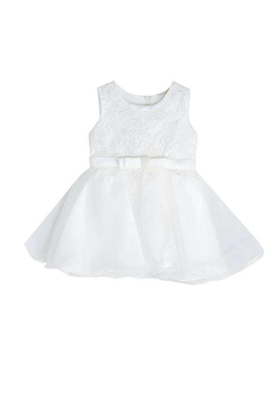 Biała Sukienka Merida