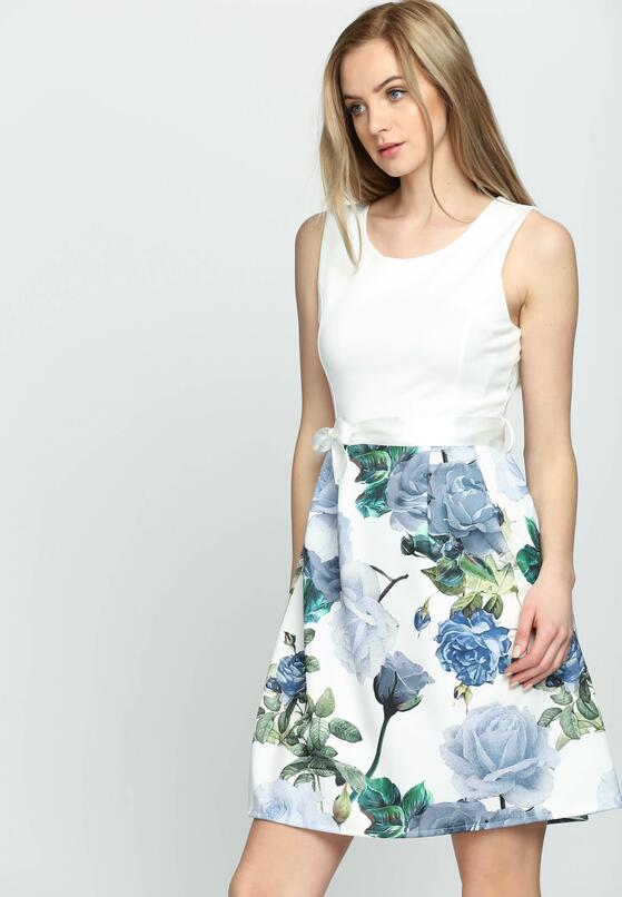 Niebieska Sukienka Lush