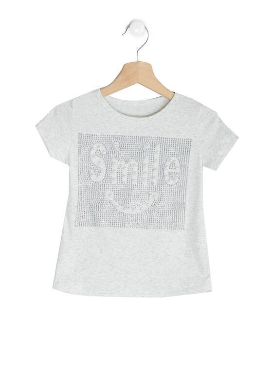 Szara Koszulka Keep Smile
