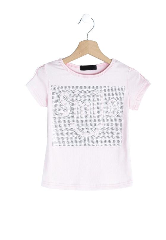 Różowa Koszulka Keep Smile