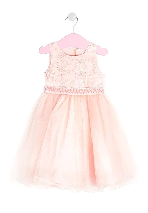 Łososiowa Sukienka Aurora
