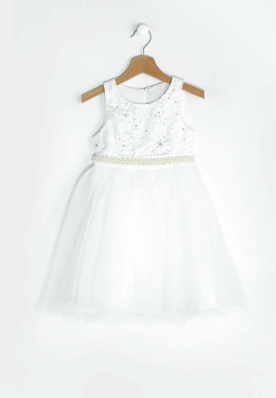 Biała Sukienka Aurora