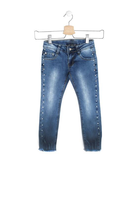 Niebieskie Jeansy List Pearl