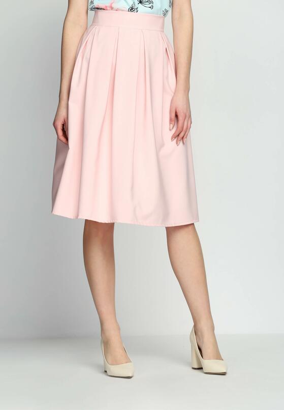 Różowa Spódnica Fifties Mood
