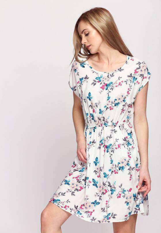 Biała Sukienka Gossamer