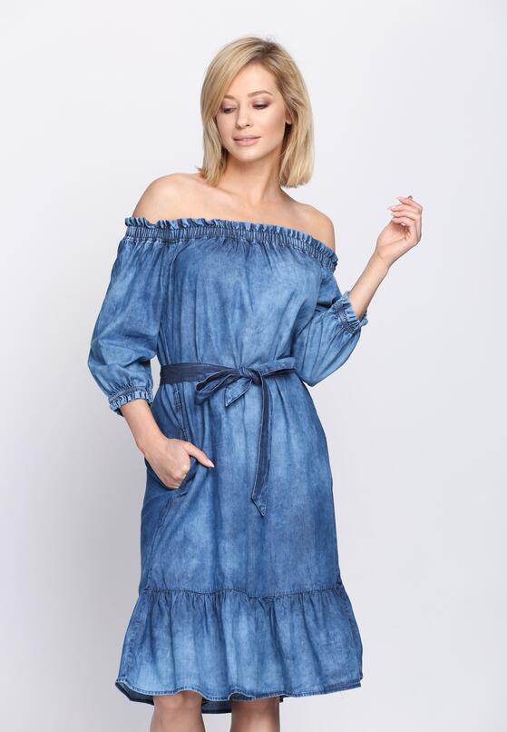Niebieska Sukienka Siesta