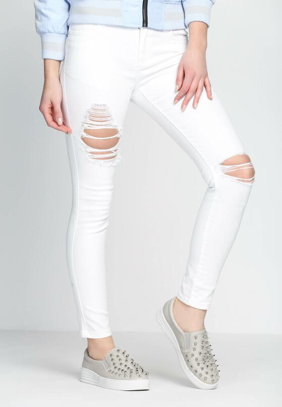 Białe Spodnie Yank