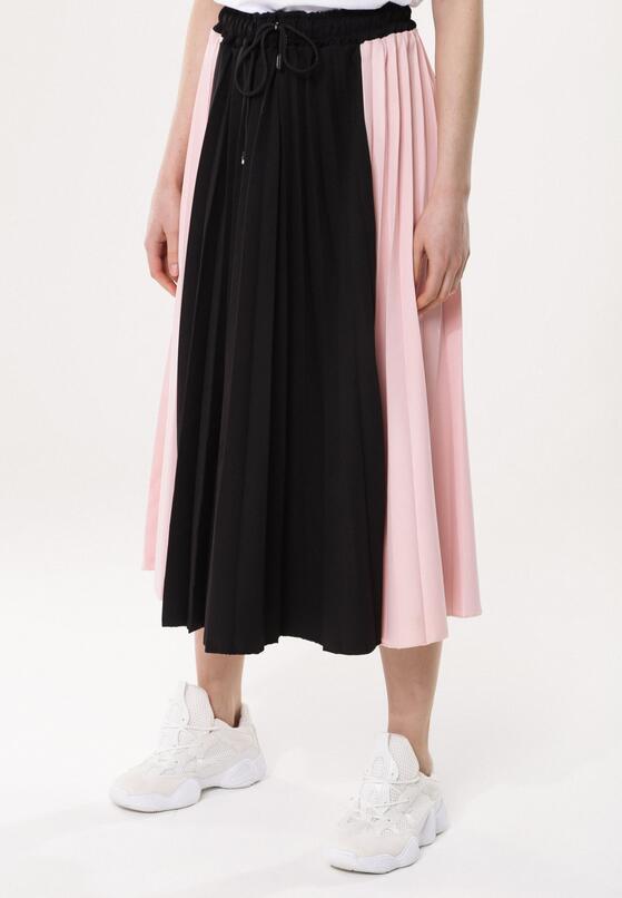 Czarno-Różowa Spódnica Anything Goes