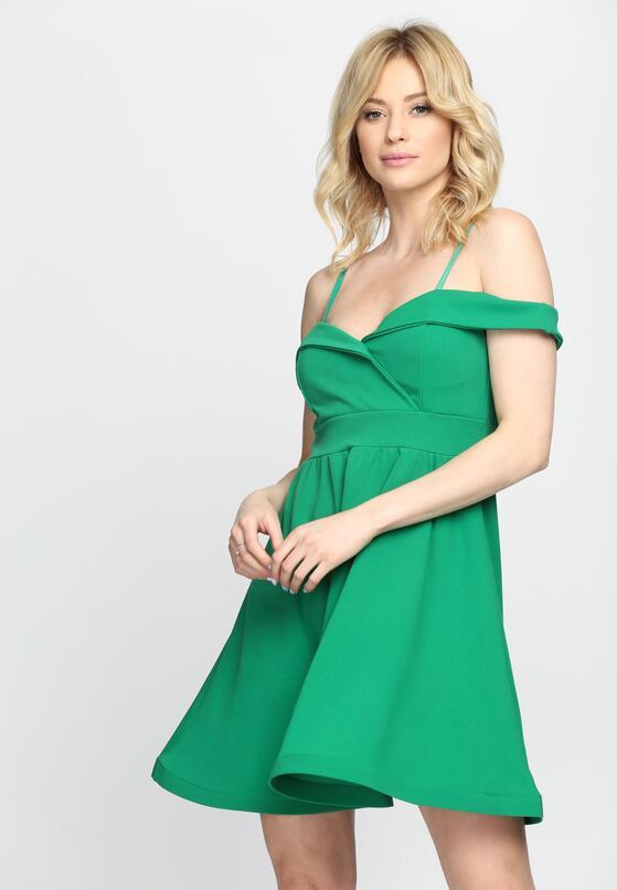 Zielona Sukienka Party Favors