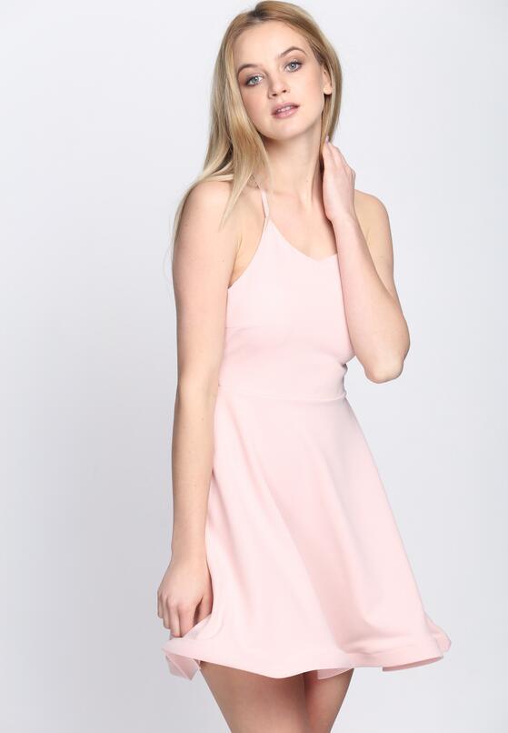 Różowa Sukienka Like That