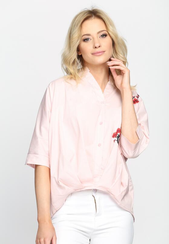 Różowa Koszula Say A Little Fashion