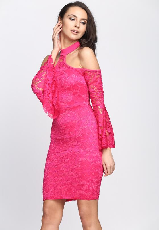 Fuksjowa Sukienka Gorgeous Thing