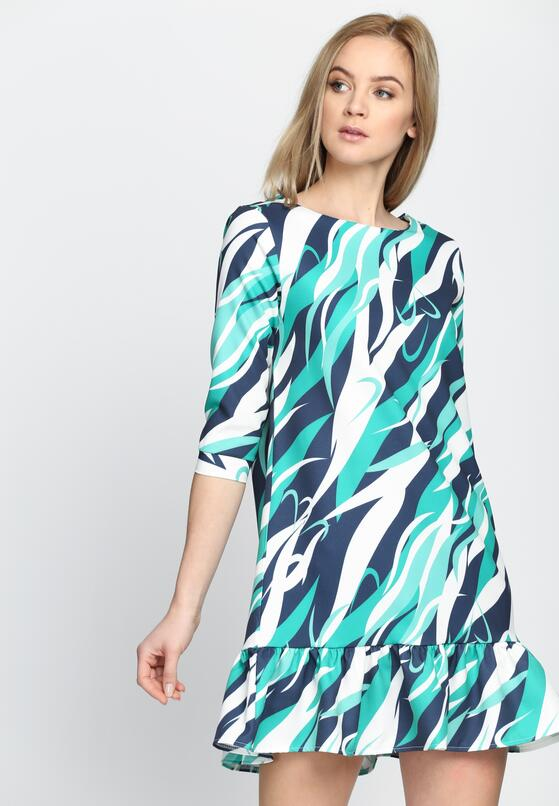 Zielona Sukienka Respect Vogue