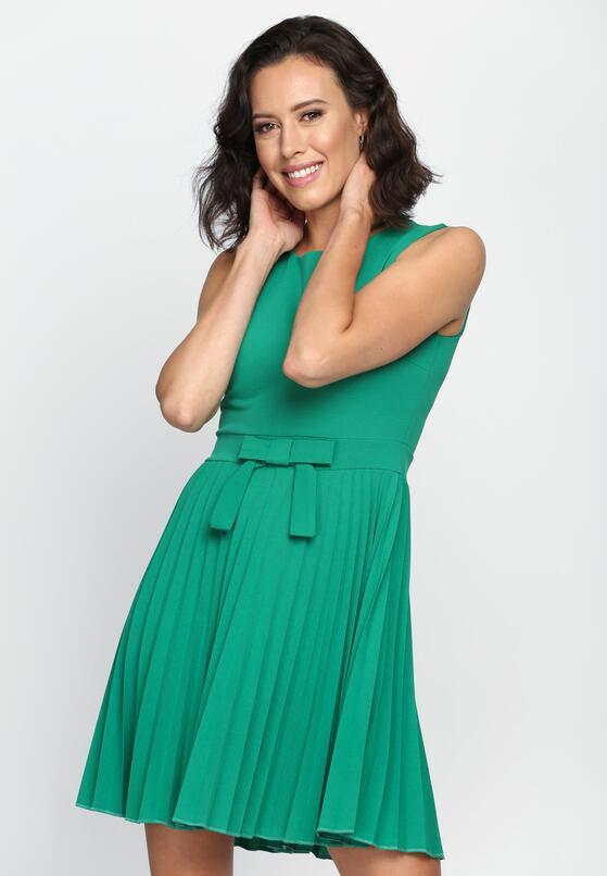 Zielona Sukienka Comfortable Italian