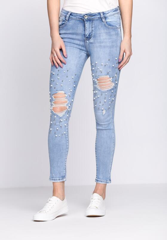 Niebieskie Jeansy Make It To Me