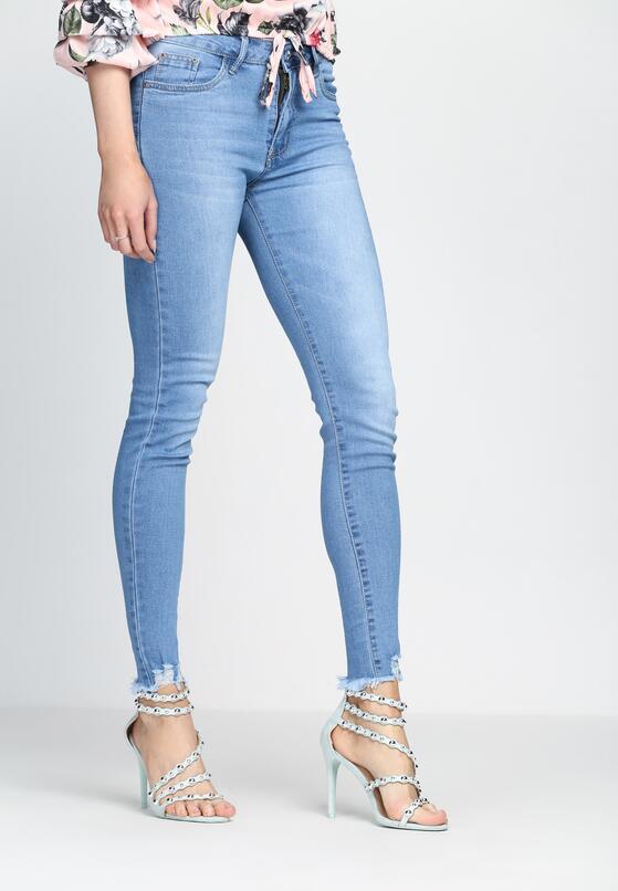 Niebieskie Jeansy So Ambitious