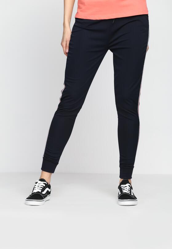 Granatowe Spodnie Dresowe Need Me