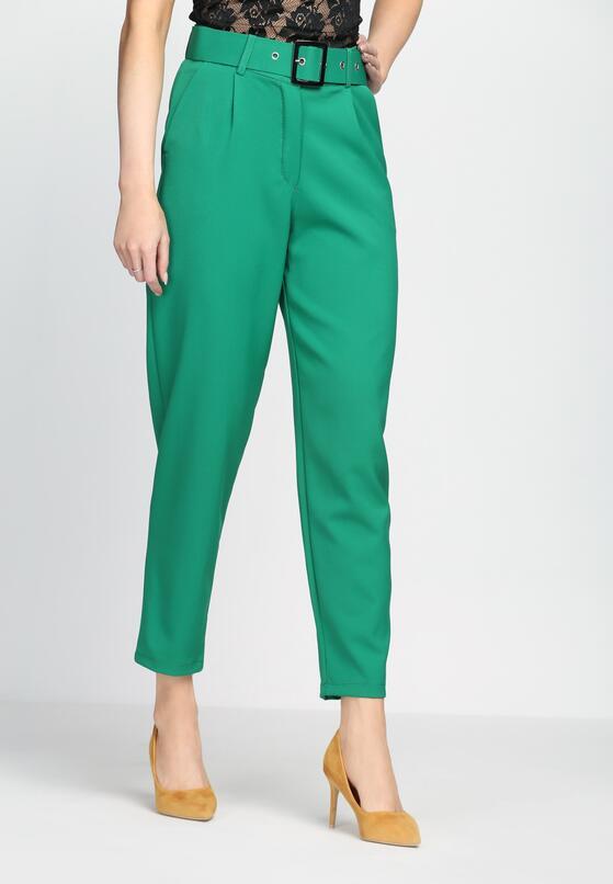 Zielone Spodnie Heart Is Calling