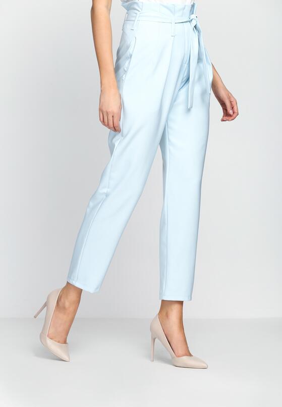 Niebieskie Spodnie Lovely Bow