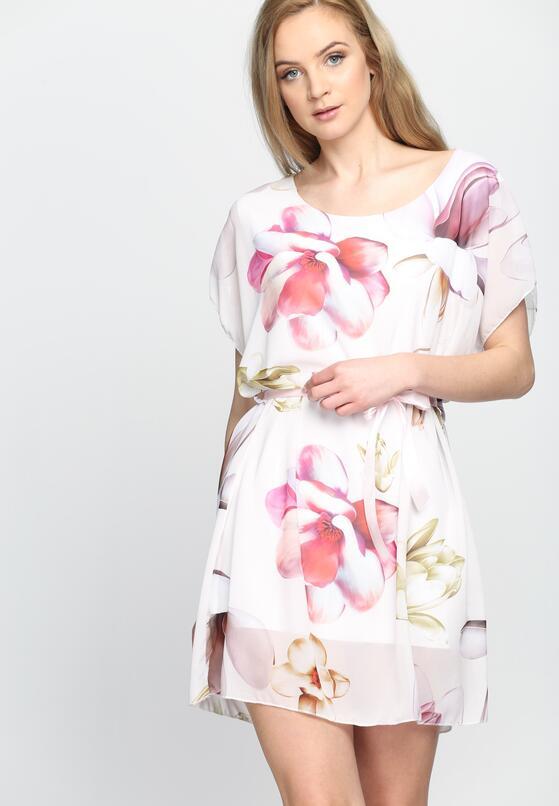 Biała Sukienka Spring Thing