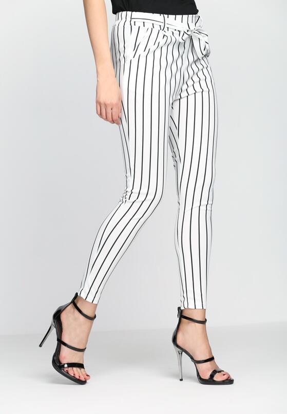 Białe Spodnie Beat As One