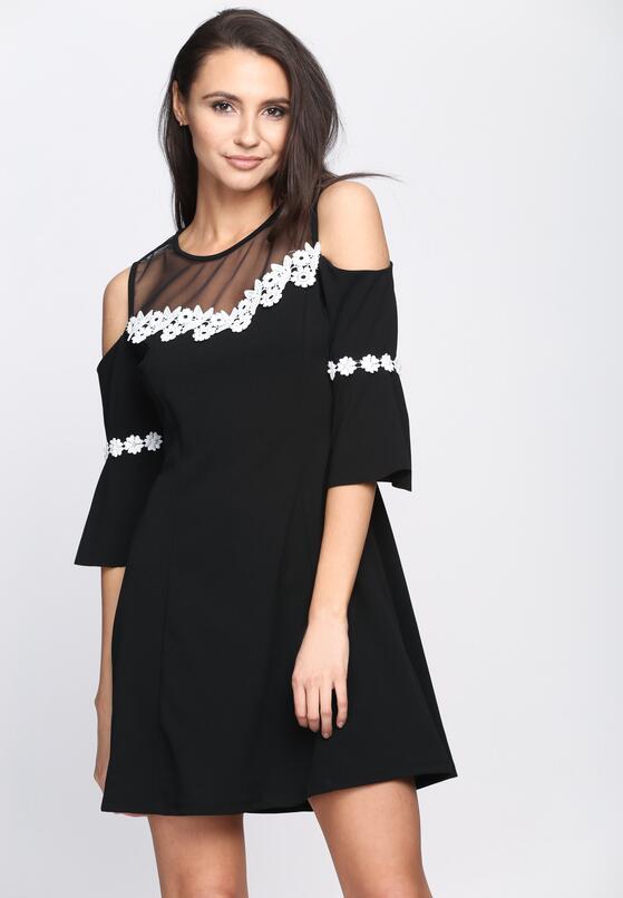 Czarna Sukienka Margarita