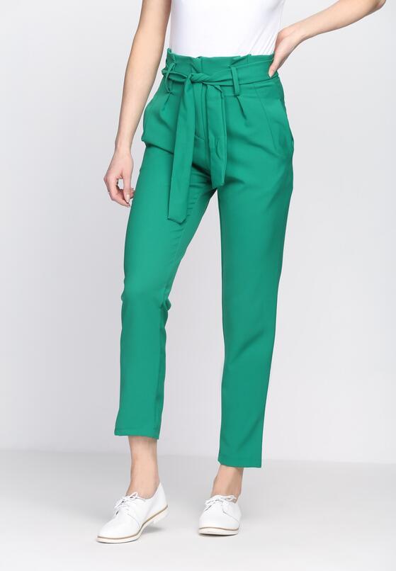 Zielone Spodnie Classical