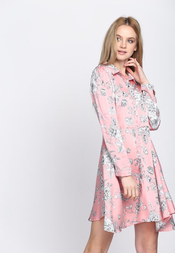 Różowa Sukienka Me Miss