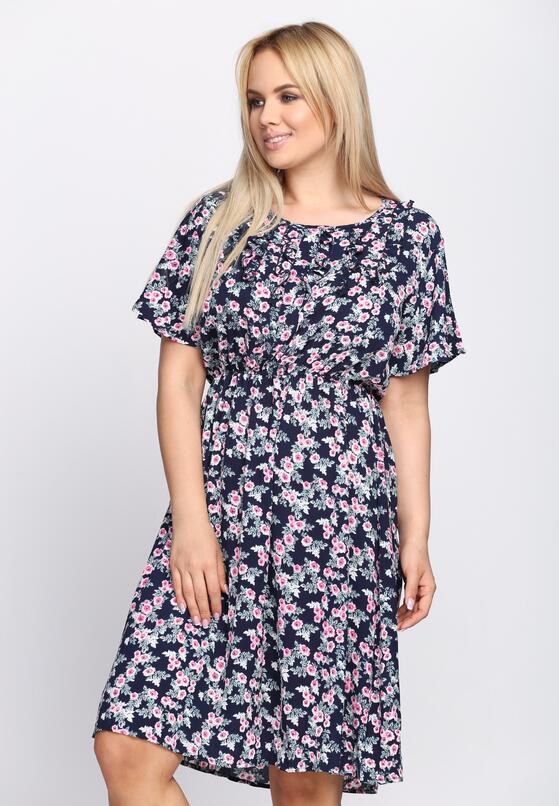 Granatowa Sukienka Azalea