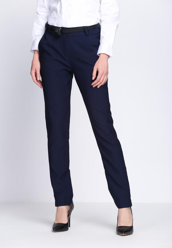Granatowe Spodnie Make Love