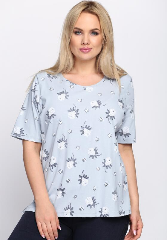 Niebieski T-shirt Impartial