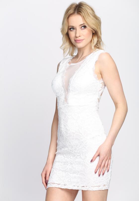 Biała Sukienka Under My Skin